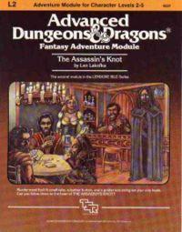 The Assassin's Knot (Module L2) (Advanced Dungeons & Dragons) - Lenard Lakofka