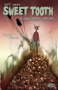 Sweet Tooth, Vol. 4: Endangered Species - Jeff Lemire