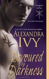 Devoured by Darkness (Guardians of Eternity, Book 7) 1st (first) edition Text Only - Alexandra Ivy