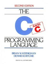 The  C Programming Language - Brian W. Kernighan, Dennis M. Ritchie