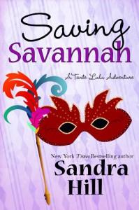 Saving Savannah (Tante Lulu Adventure, #0.5) - Sandra Hill