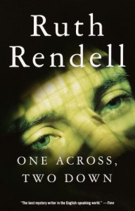 One Across, Two Down - Ruth Rendell