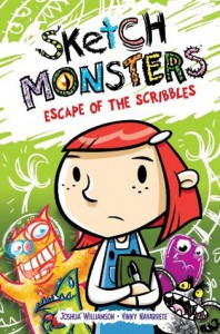 Sketch Monsters, V1: Escape of the Scribbles - Joshua Williamson, Jill Beaton, Vinny Navarrete