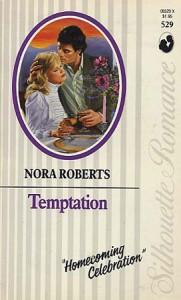 Temptation (Silhouette Romance #529) - Nora Roberts