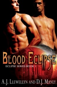 Blood Eclipse - A.J. Llewellyn, D.J. Manly