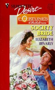 Society Bride - Elizabeth Bevarly