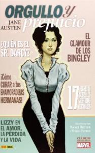Clásicos Ilustrados Marvel: Orgullo y prejuicio - Hugo Petrus, Nancy Butler, Jane Austen