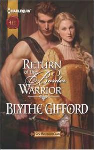 Return of the Border Warrior - Blythe Gifford