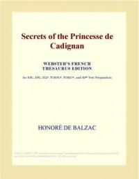 Secrets of the Princesse de Cadignan - Honoré de Balzac