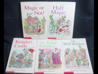 Edward Eager's Magic Tales [Boxed Set] Half Magic, Magic by the Lake, Time Garden, Knight's Castle, Magic or Not?, Well-Wishers, Seven-Day Magic - Edward Eager