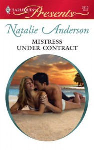 Mistress Under Contract - Natalie Anderson