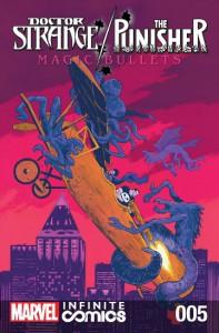 Doctor Strange/Punisher: Magic Bullets Infinite Comic #5 (of 8) - John Barber