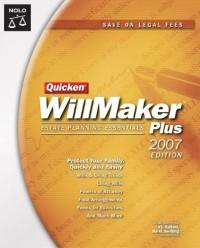 Quicken Willmaker Plus: Estate Planning Essentials [With CDROM] - Shae Irving