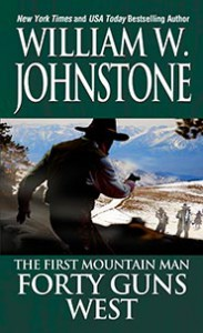 Forty Guns West - William W. Johnstone