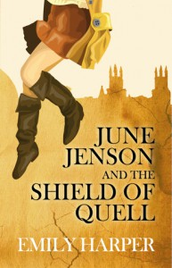 June Jenson and the Shield of Quell - Emily  Harper