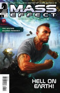 Mass Effect Homeworlds #1 - Anthony Palumbo