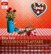 Grießnockerlaffäre (mp3-Ausgabe): Ungekürzte Lesung mit Christian Tramitz (1 mp3-CD) - Rita Falk, Christian Tramitz