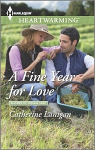 A Fine Year for Love  (Shores of Indian Lake #3) - Catherine Lanigan