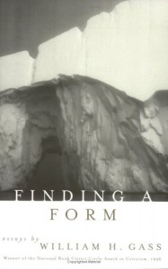 Finding a Form - William H. Gass