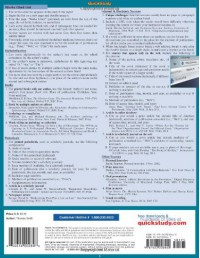 Apa/Mla Guidelines (Quick Study: Academic) - Inc. BarCharts