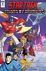 Star Trek vs. Transformers #1 (of 5) - John Barber, Mike Johnson, Philip Murphy