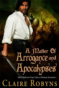 A Matter of Arrogance and Apocalypses - Claire Robyns
