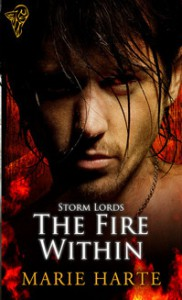The Fire Within (Storm Lords #1) - Marie Harte