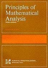 The Principles of Mathematical Analysis (International Series in Pure & Applied Mathematics) - Walter Rudin