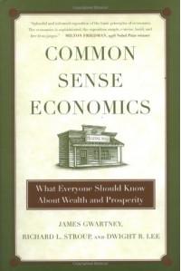 Common Sense Economics: What Everyone Should Know About Wealth and Prosperity - James D. Gwartney, Richard L. Stroup