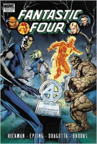 Fantastic Four Volume 4 - Jonathan Hickman, Steve Epting