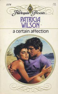 A Certain Affection - Patricia Wilson