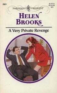 A Very Private Revenge - Helen Brooks