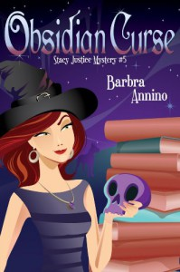 Obsidian Curse (A Stacy Justice Mystery) - Barbra Annino