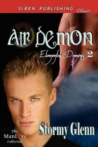 Air Demon (Elemental Demons, #2) - Stormy Glenn