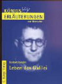 Bertold Brecht: Leben des Galilei - Wilhelm Große