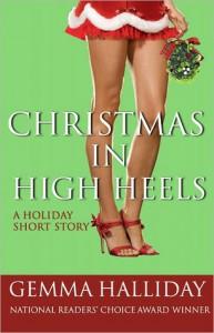 Christmas in High Heels (A High Heels Mystery, #3.5) - Gemma Halliday