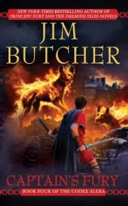 Captain's Fury (Codex Alera, Book 4) - Jim Butcher