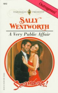 A Very Public Affair - Sally Wentworth