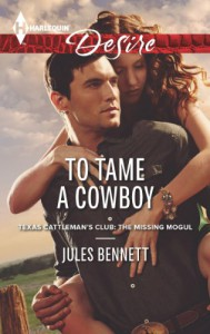 To Tame a Cowboy - Jules Bennett