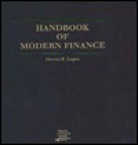 Handbook of Modern Finance - Dennis E. Logue