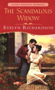The Scandalous Widow - Evelyn Richardson