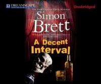 A Decent Interval - Simon Brett