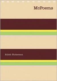 McPoems - Billeh Nickerson