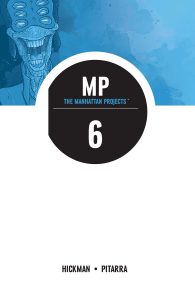The Manhattan Projects Volume 6: Sun Beyond the Stars (Manhattan Projects Tp) - Jonathan Hickman