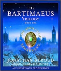 The Amulet of Samarkand (Bartimaeus Trilogy, #1) - Jonathan Stroud, Simon Jones