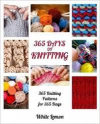 Knitting: 365 Days of Knitting - White Lemon
