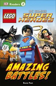 DK Readers L2: LEGO DC Comics Super Heroes: Amazing Battles! - DK