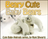 Toddler's book: Beary Cute Baby Bears (Cute Baby Animals) - Roni Shwartz