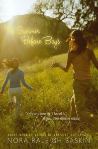 The Summer Before Boys - Nora Raleigh Baskin