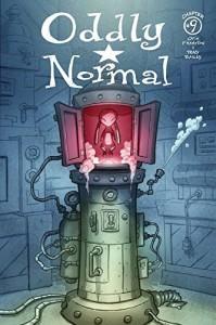 ODDLY NORMAL #9 CVR A FRAMPTON - Image Comics 2015 - Image Comics